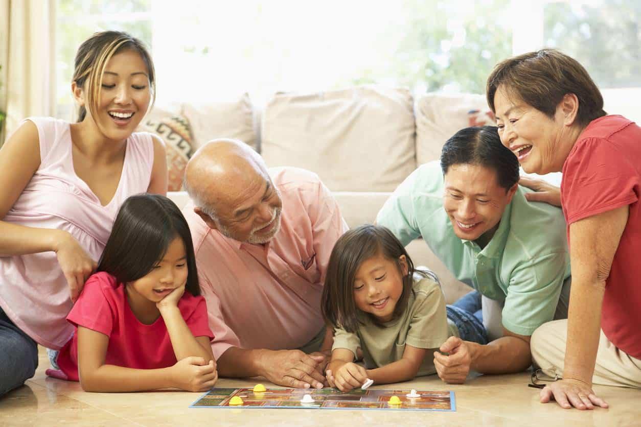 jeu de société famille