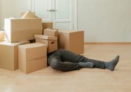 période déménagement
