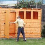 Comment transformer une cabane de jardin en chambre d'amis ou en studio de jardin